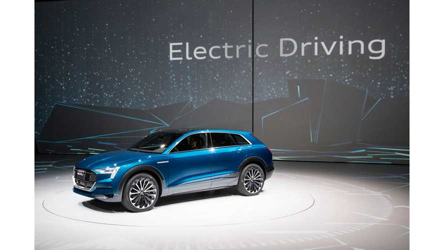 "Audi Targets ""Premium Customers In Big-Car Sector"" With Upcoming Electric Cars"