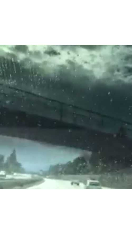 Watch Rain Go Up And Over Tesla Model X's Panoramic Windshield - Video