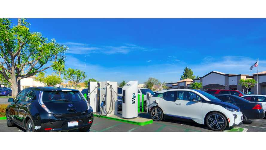 Four Charging Networks Control Over 60% Of Charging Points In U.S.