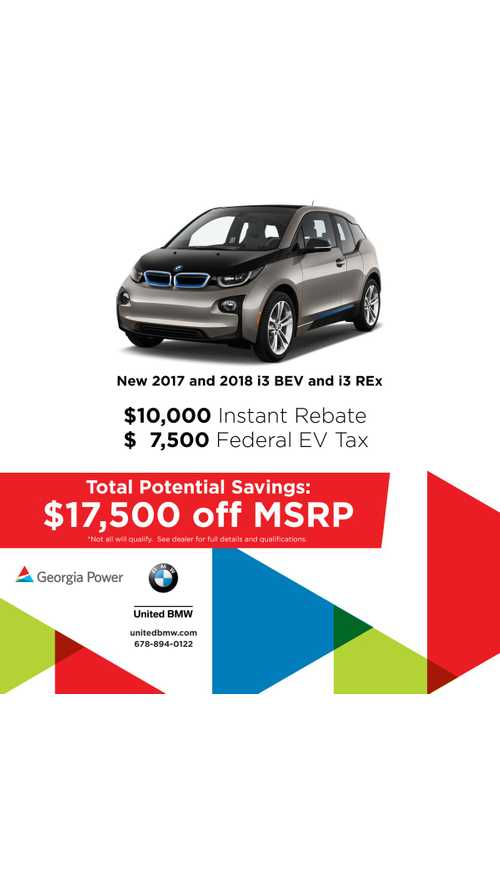 Get $17,500 Off A BMW i3: Here's How