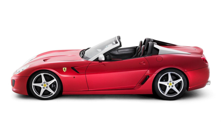Ferrari SA Aperta 599 roadster revealed