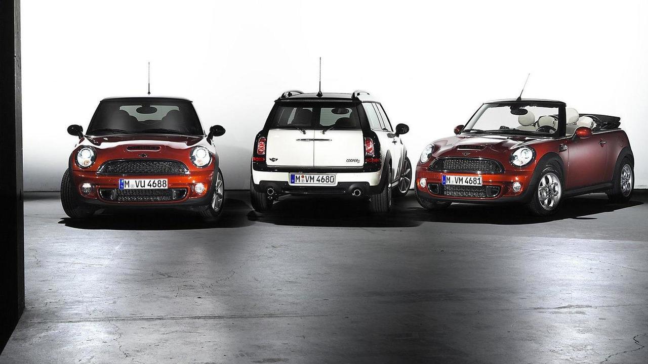 2011 MINI facelift range 28.06.2010