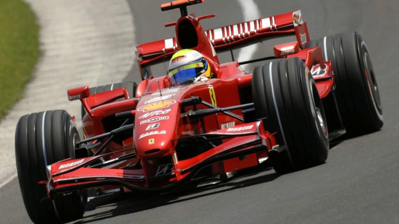 Felipe Massa driving Ferrari's F2007 F1 Car - 356216