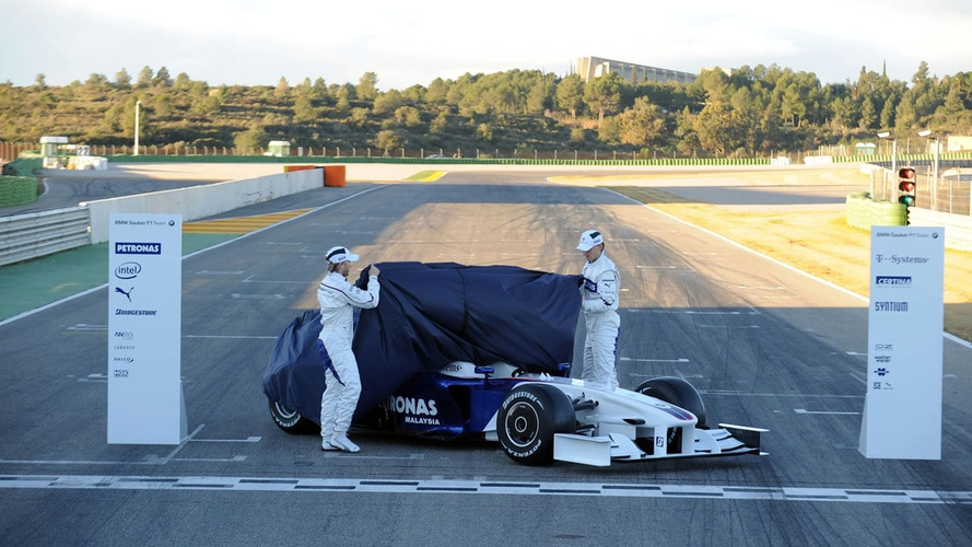 BMW Sauber F1.09 Unveiled