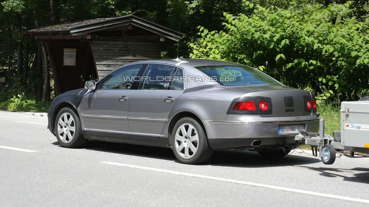 Volkswagen Phaeton Facelift Prototype