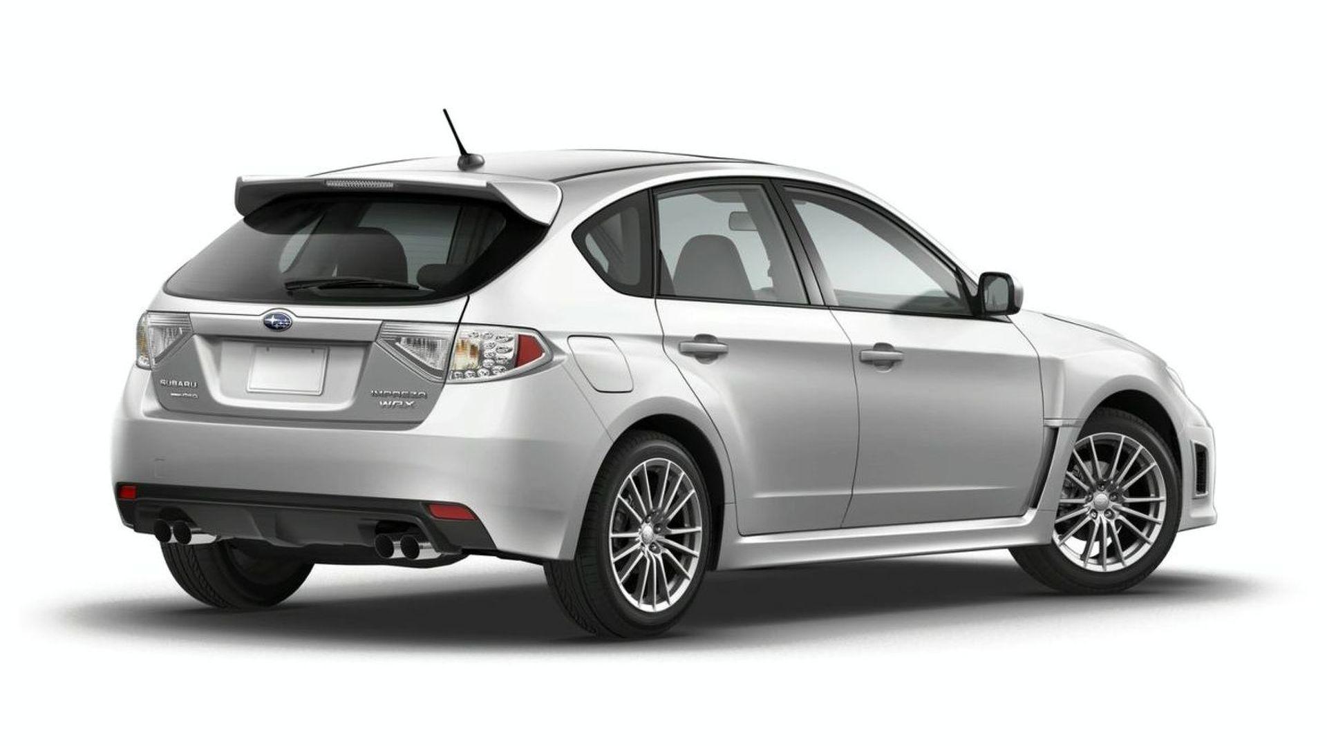 2011 Subaru Impreza Wrx Facelift Gets Widebody Debut In New York