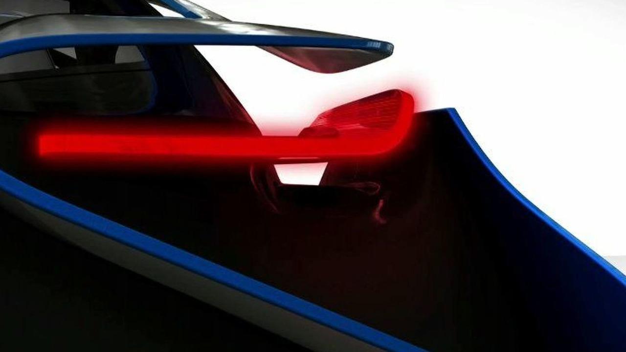 BMW Vision EfficientDynamics concept first teaser image