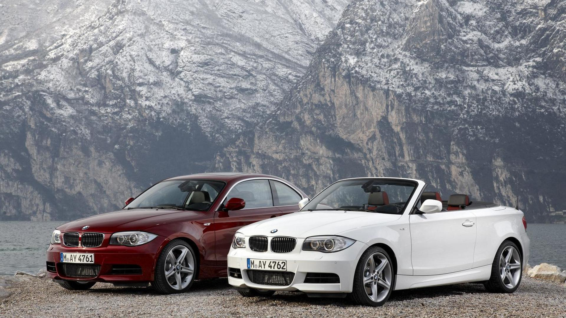 Bmw 1 Series Coupe Convertible Phased Out