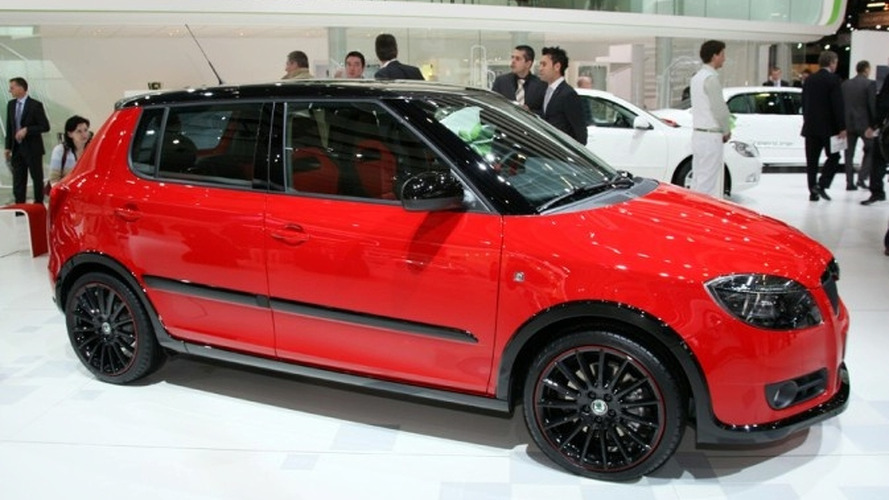 Skoda Unveils Three Fabia Design Studies in Geneva