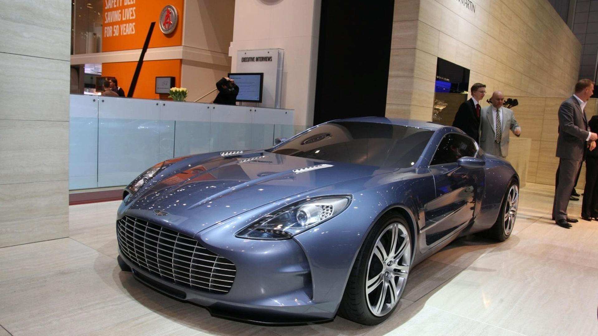 Aston Martin One 77 Officially Powers Into Geneva
