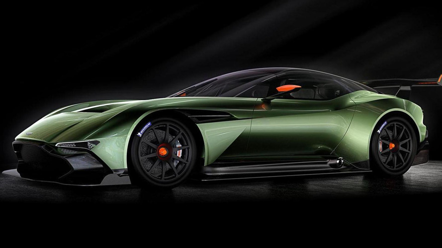 Aston Martin Vulcan unveiled with 800+ bhp