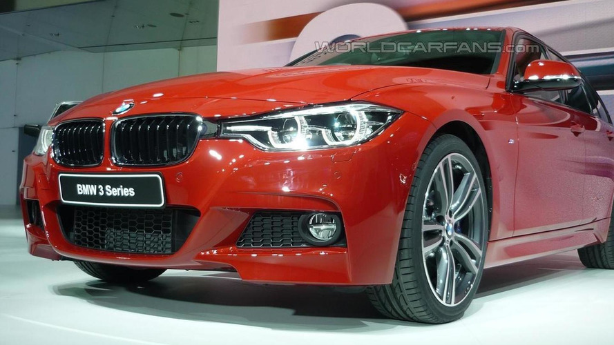 2015 BMW 3-Series Facelift Goes Official With 3-Cylinder Engine