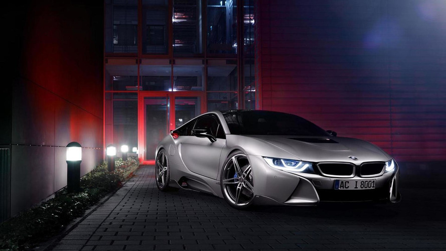 Bmw I8 Gets A Modest Makeover By Ac Schnitzer Video