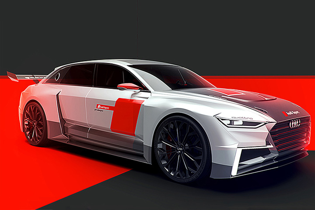 Prologue LMS: This Racy Audi Concept was Born for the Track
