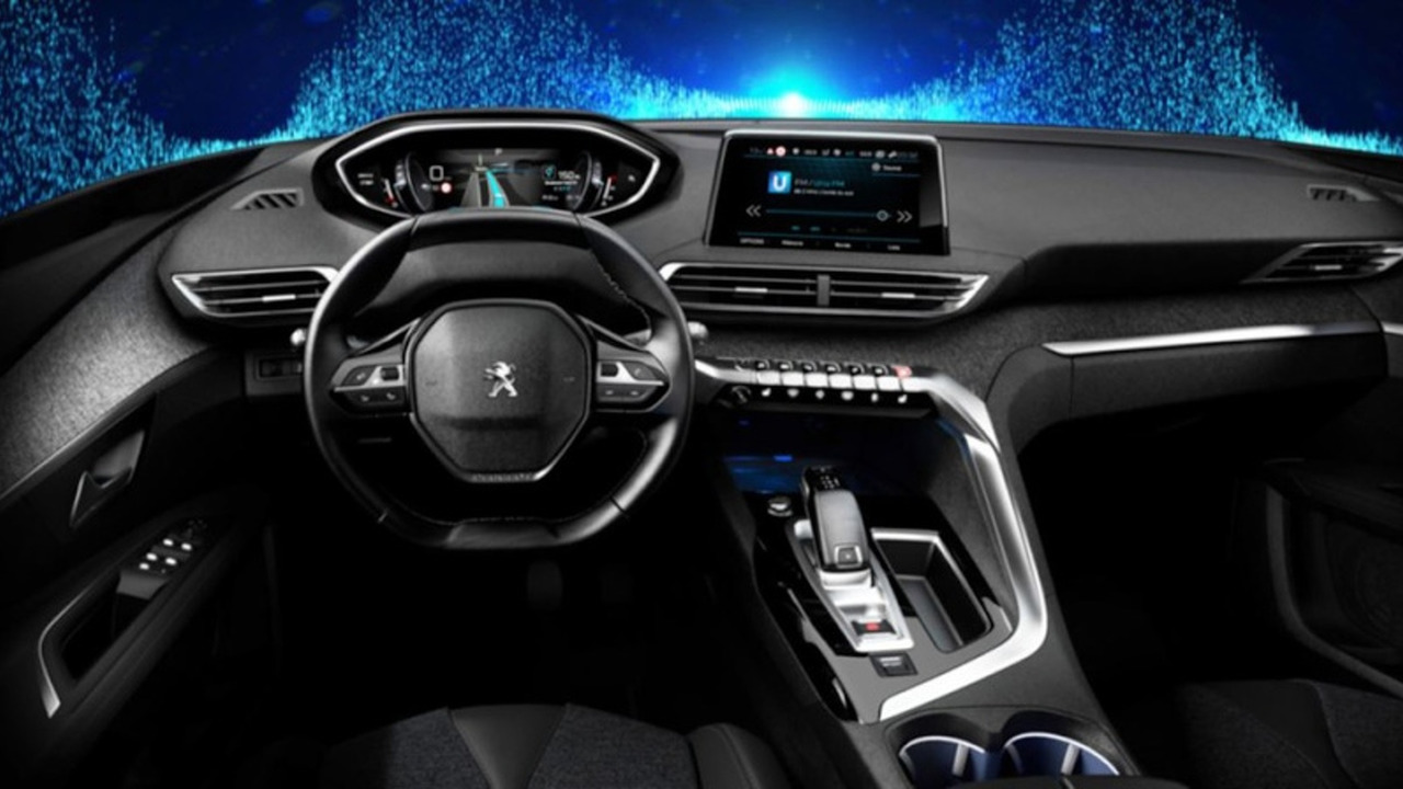 2017 Peugeot 3008 leaked official image