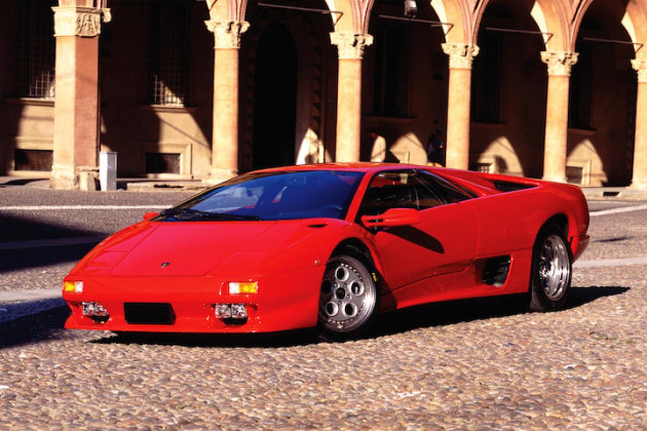 Lamborghini Diablo Born In Italy Designed In Detroit
