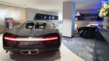 Bugatti UK showroom