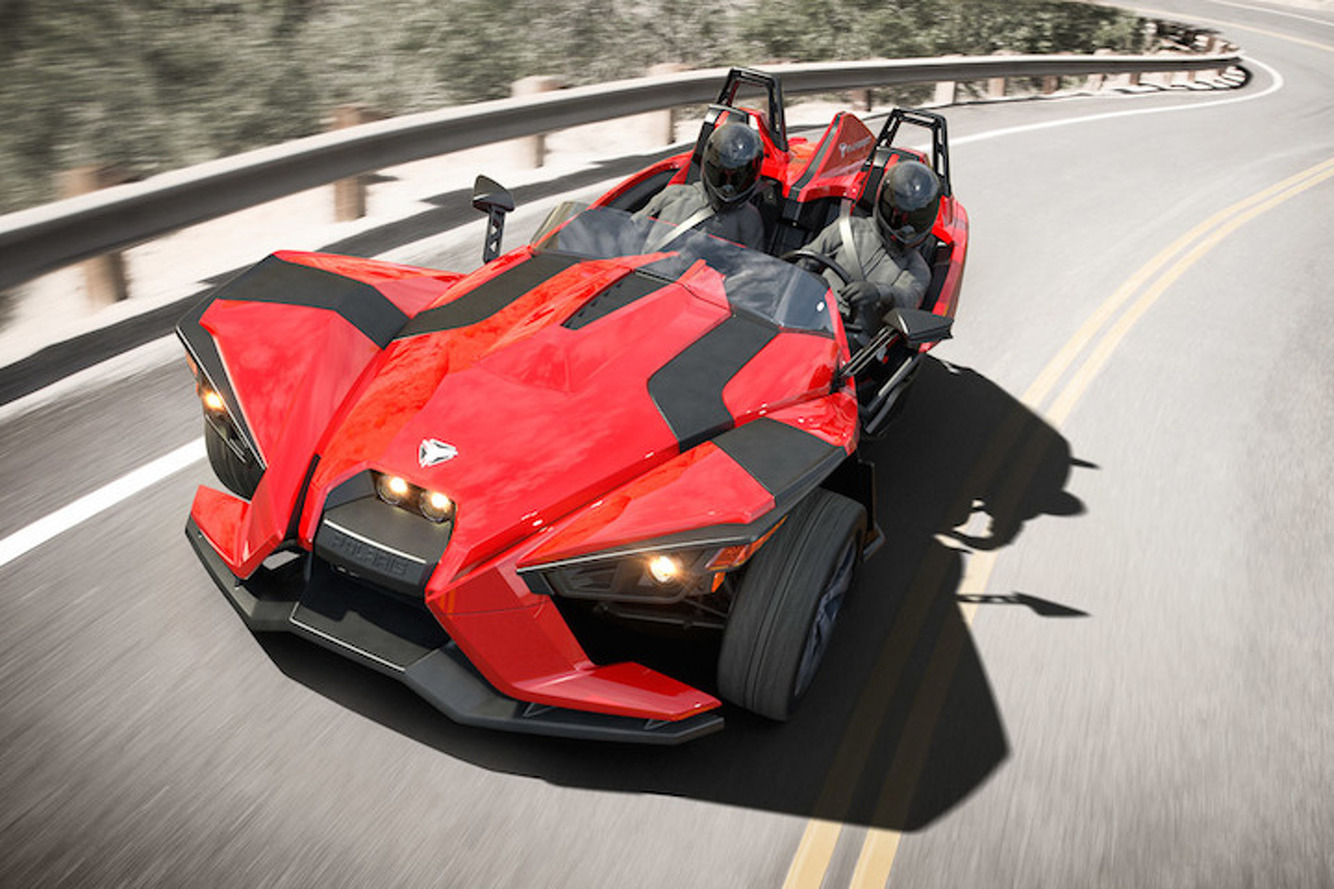 Polaris Slingshot: America's Three-Wheeled Track Toy