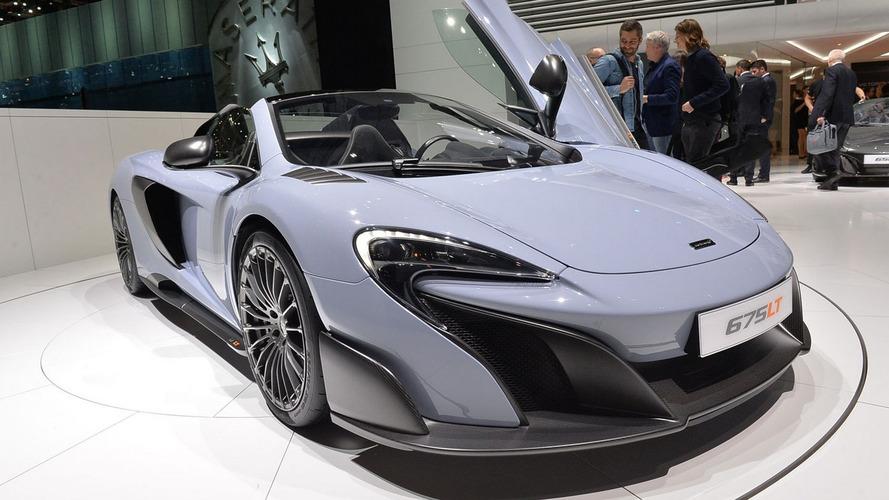 La McLaren 675LT Spider arrive à Genève