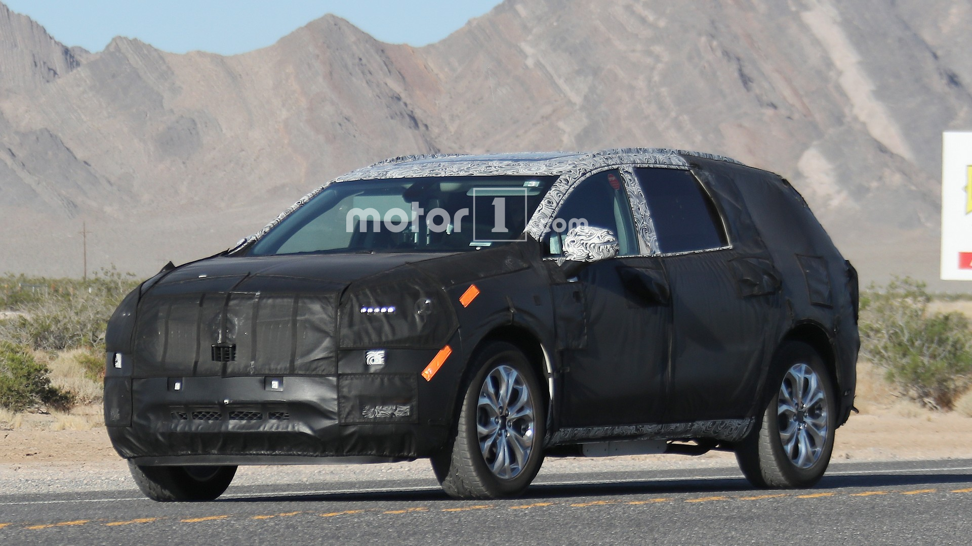 2020 Buick Enclave Spy Photos New Model and Performance