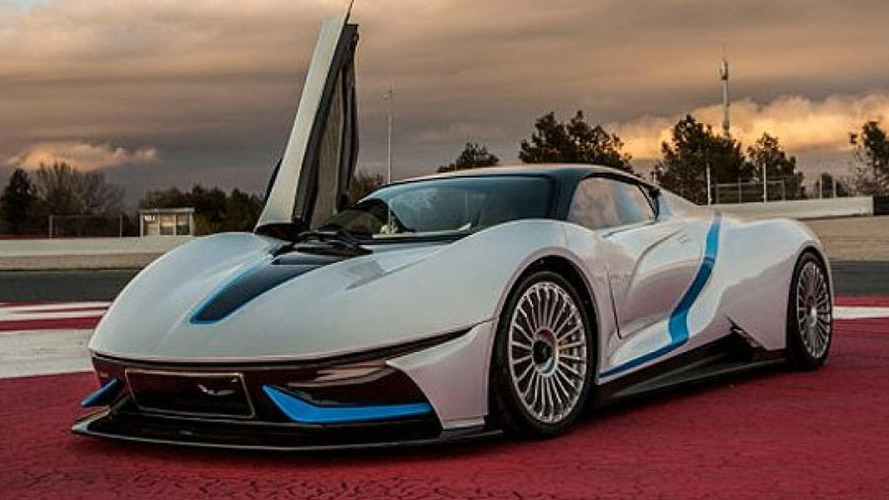 BAIC supercar concept leaked ahead of Beijing