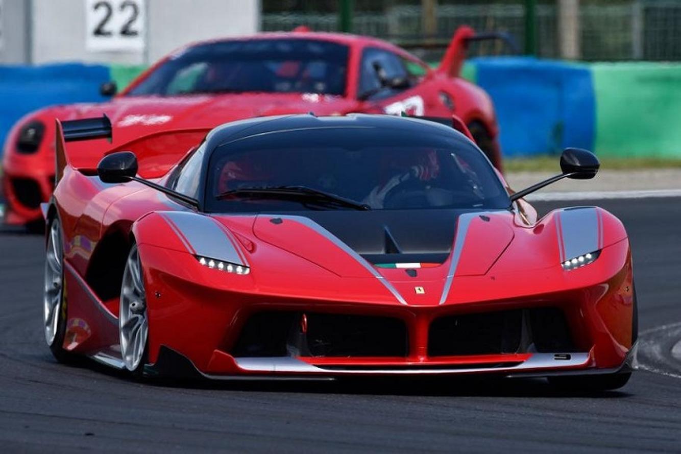 The Exclusive Drive Program Behind the Ferrari FXX K