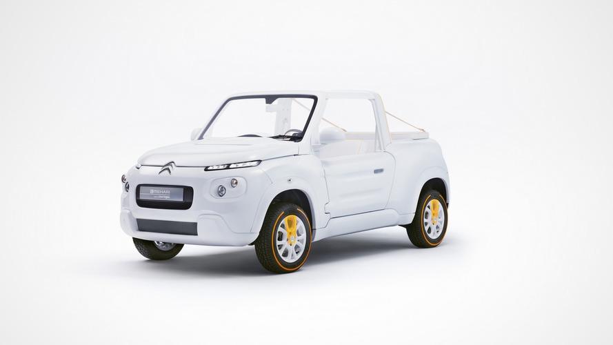 Citroën E-MEHARI restyled by Courrèges [video]