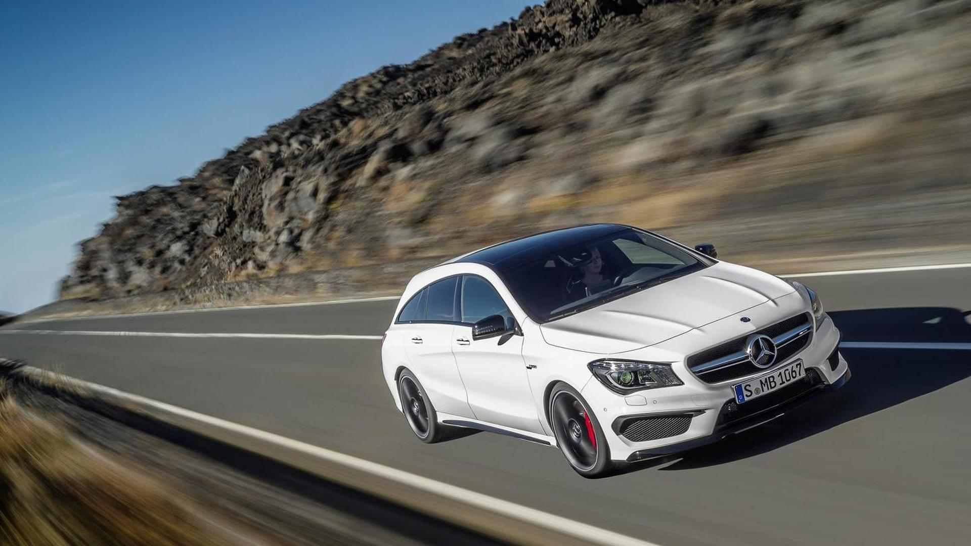 Mercedes Applies A45 Amg S Updates To Cla Gla 45 Amg Now Packing