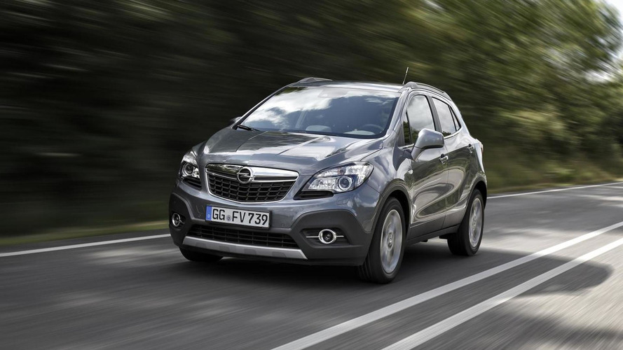 Opel Mokka gains a new entry-level 1.6-liter CDTI diesel engine