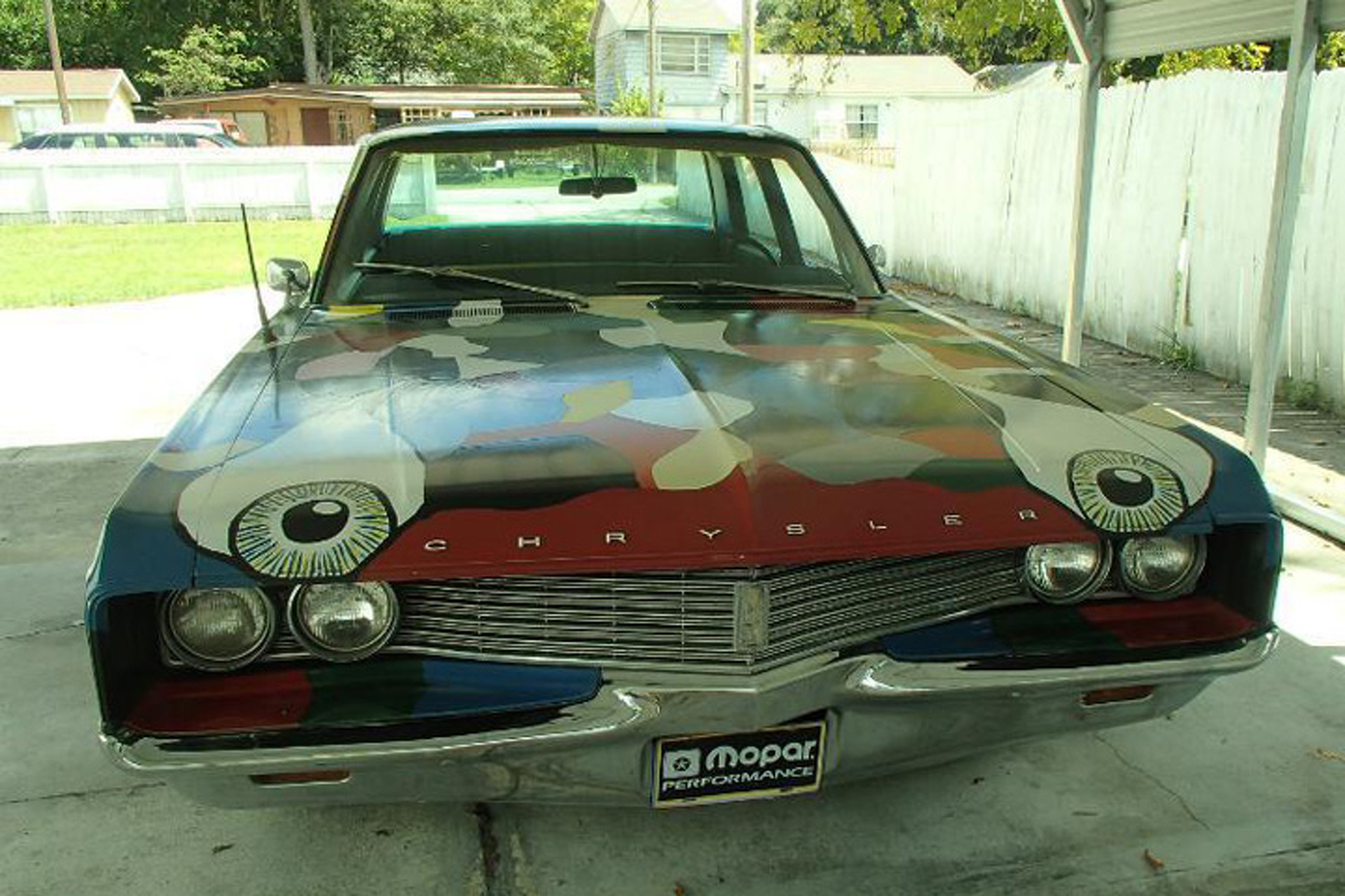 This '68 Chrysler Art Car Gets Plenty of Smiles Per Hour