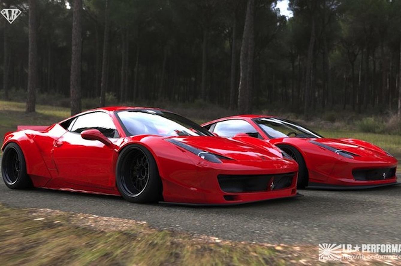 LB Performance Slams and Glams Up the Ferrari 458