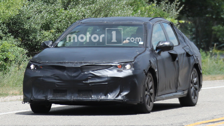 Next-gen Toyota Camry spied looking impressively adequate