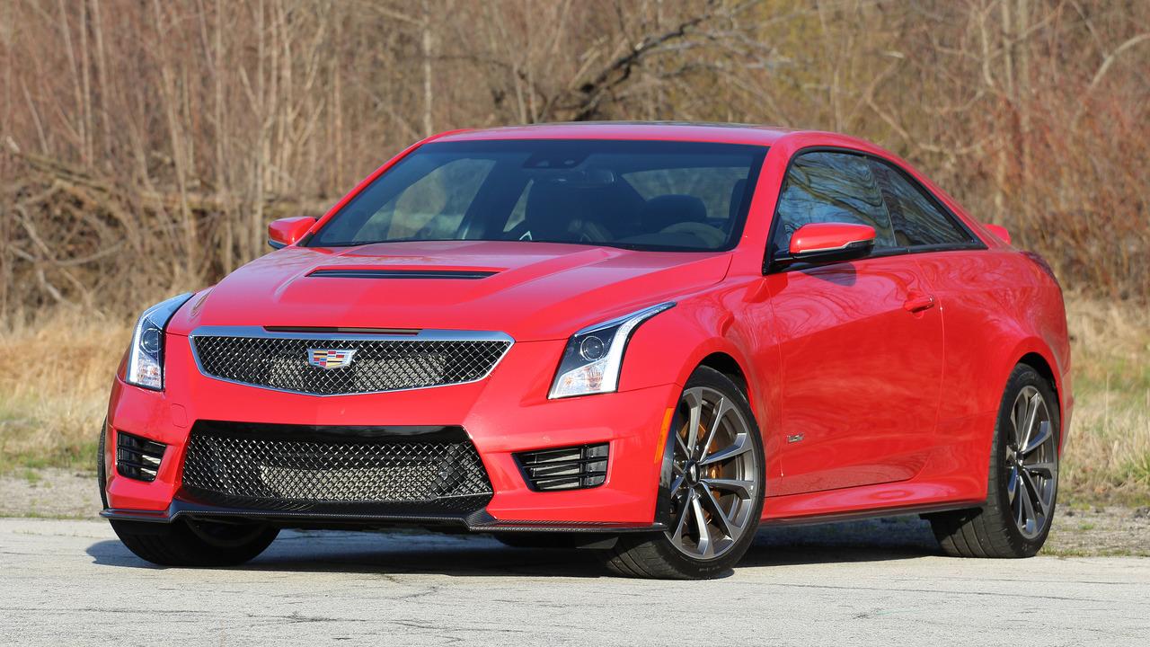Cadillac Ats V Coupe >> 2016 Cadillac Ats V Coupe Motor1 Com Photos