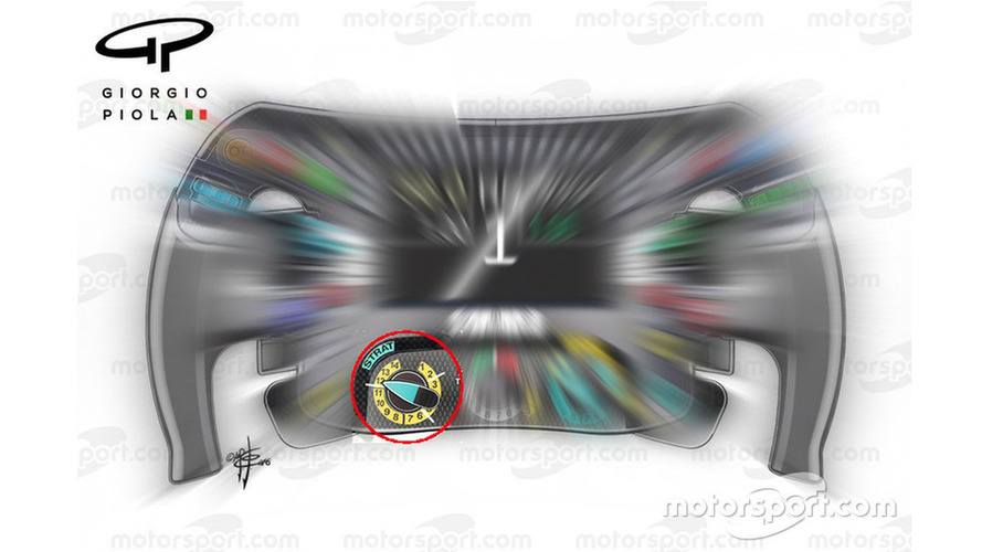 Mercedes AMG-F1 steering wheel