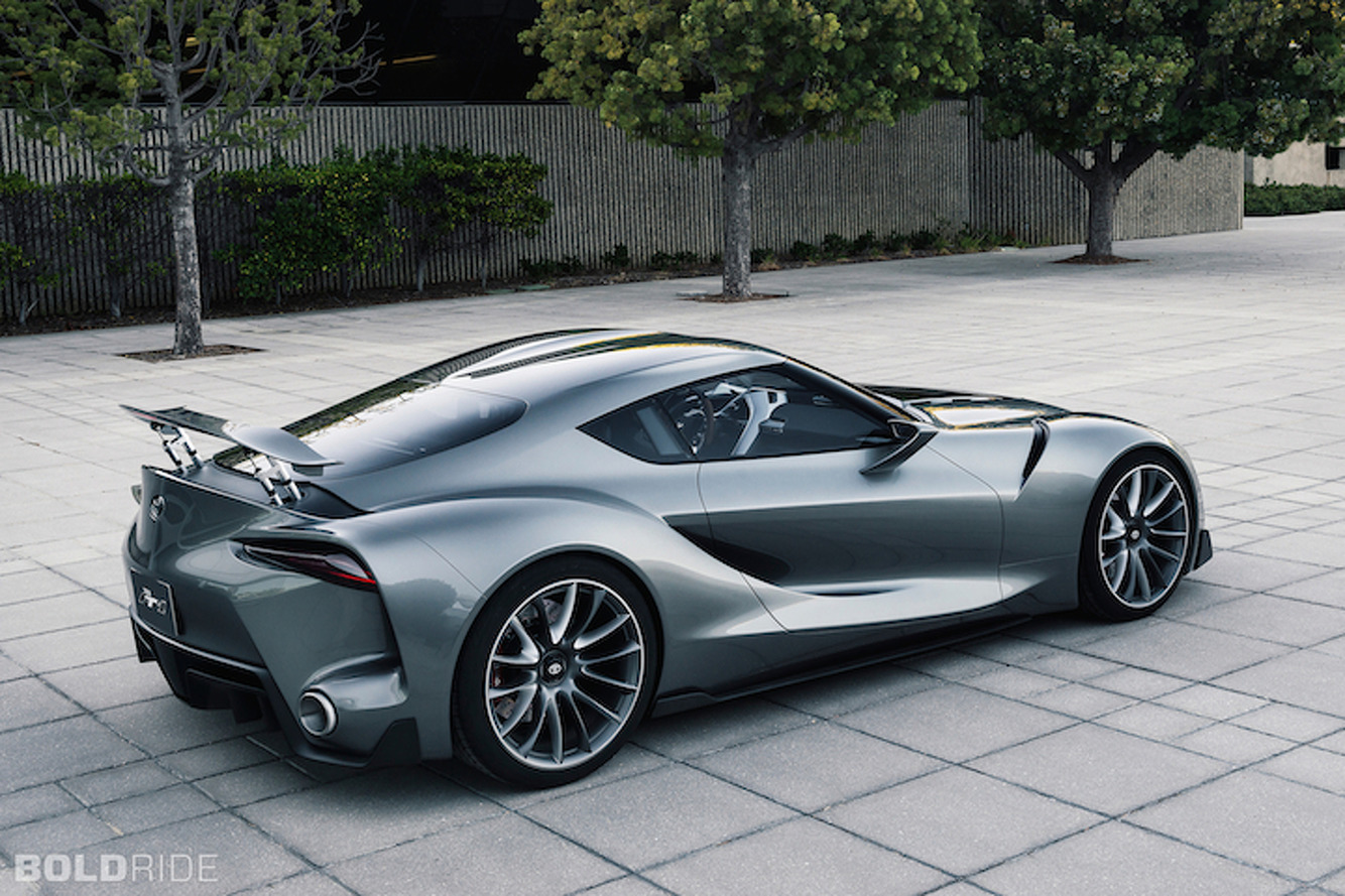 Toyota FT-1 Concept is Perfection in Graphite: Pebble Beach