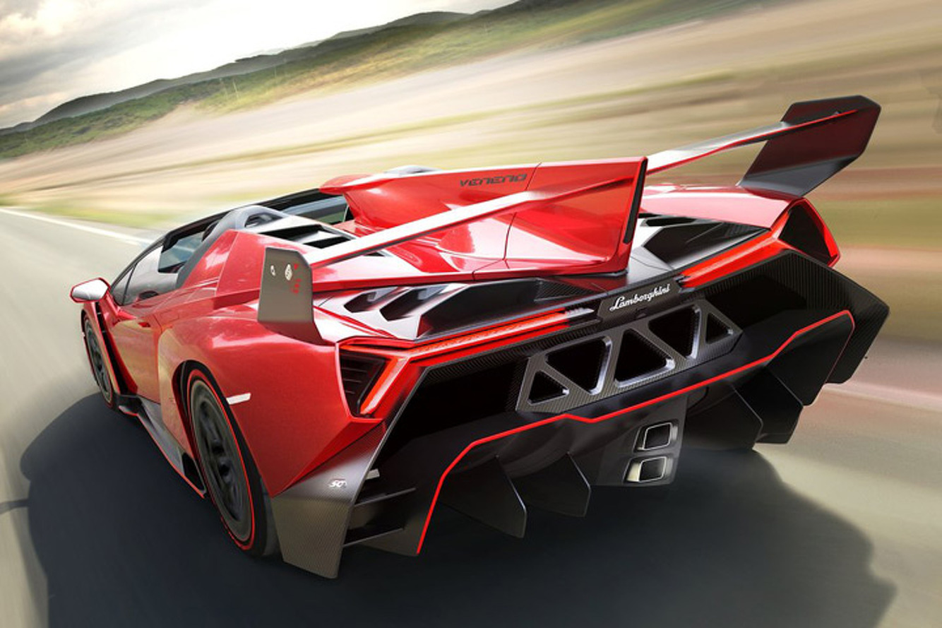 Lamborghini Veneno Roadster, Yours For $7.4 Million