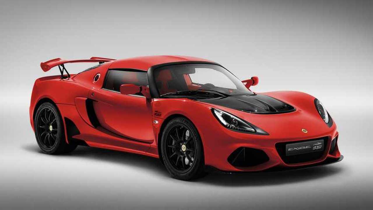 Lotus Exige Sport 410 20. Yıl Özel Versiyonu