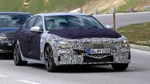 genesis g70 sedan facelift spied