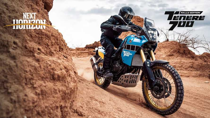 New 2020 Yamaha Ténéré 700 Rally Edition Celebrates Dakar Heritage