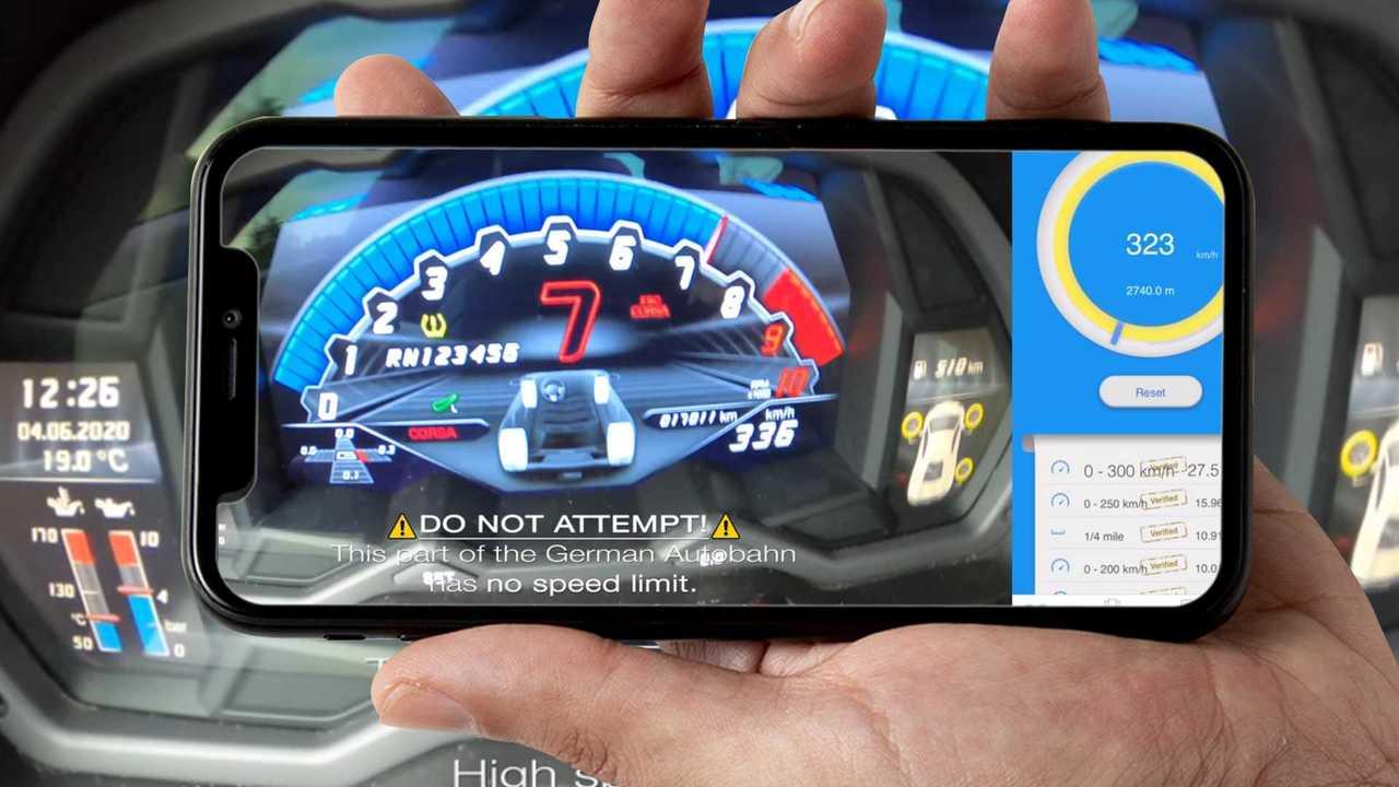 Lamborghini Aventador S, il video a 336 km/h sulla Autobahn tedesca
