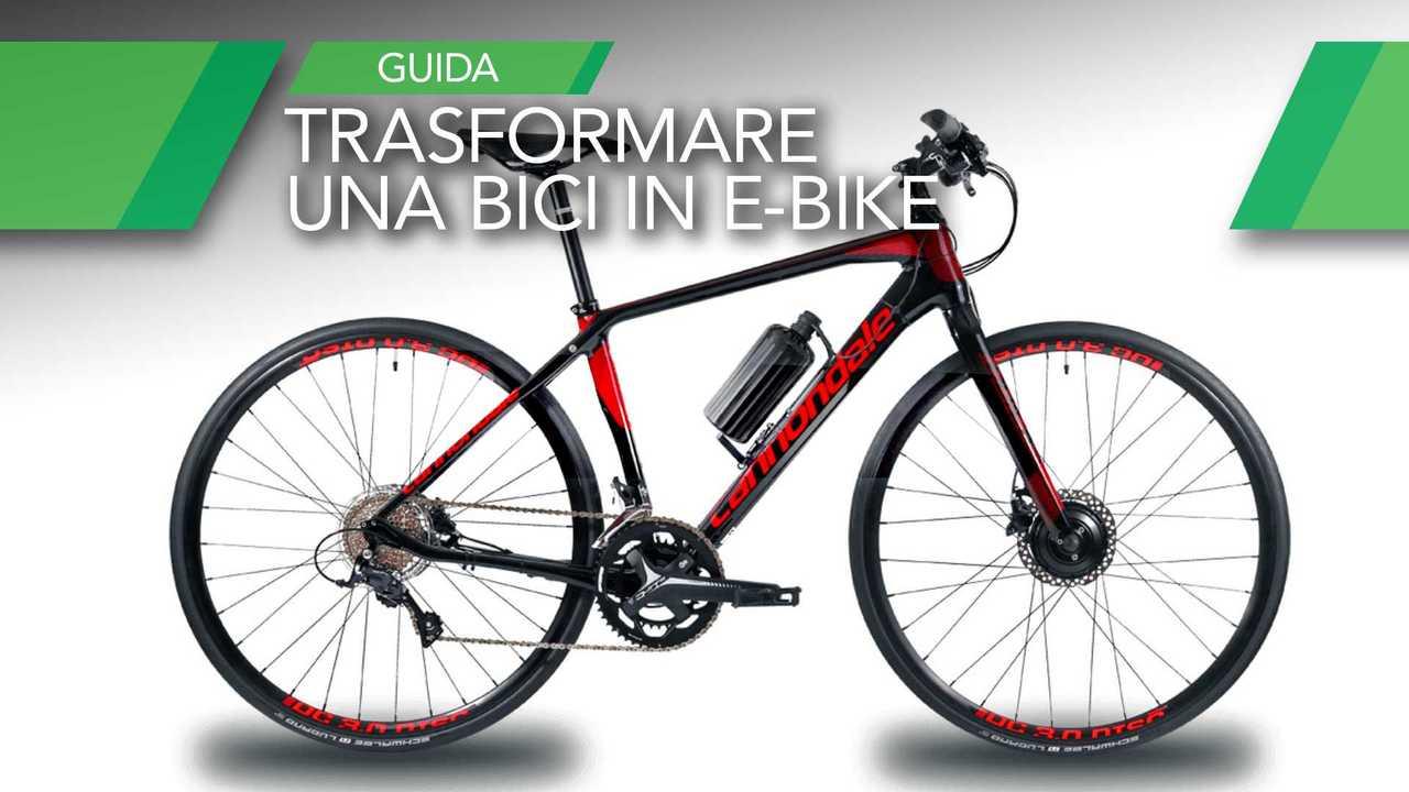 Trasformare una bici in e-bike