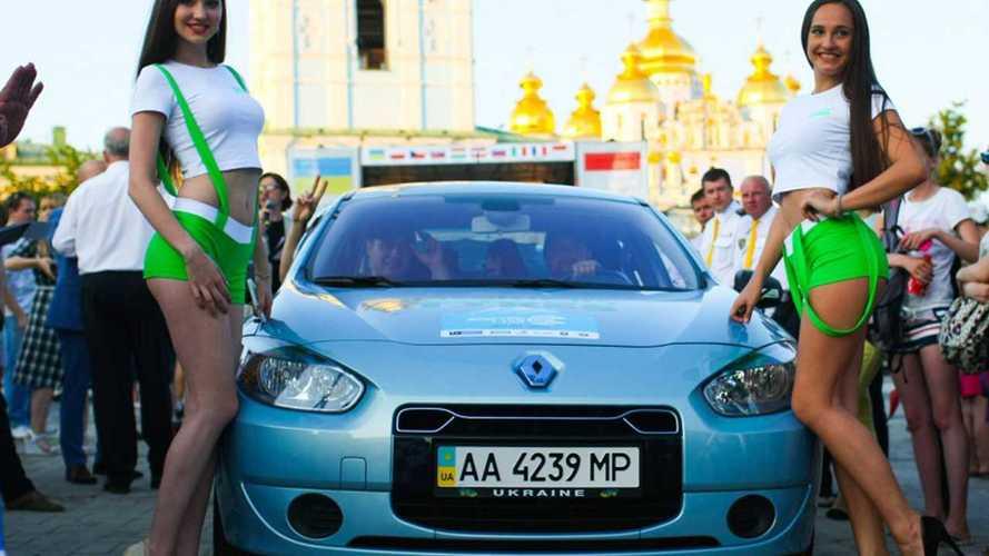 Украинцы организуют ралли электромобилей по Западной Европе