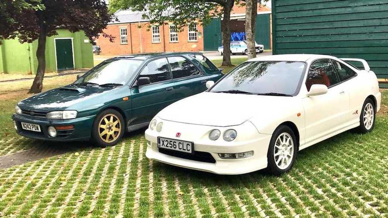 Shootout: 1996 Subaru Impreza Turbo vs 2001 Honda Integra R