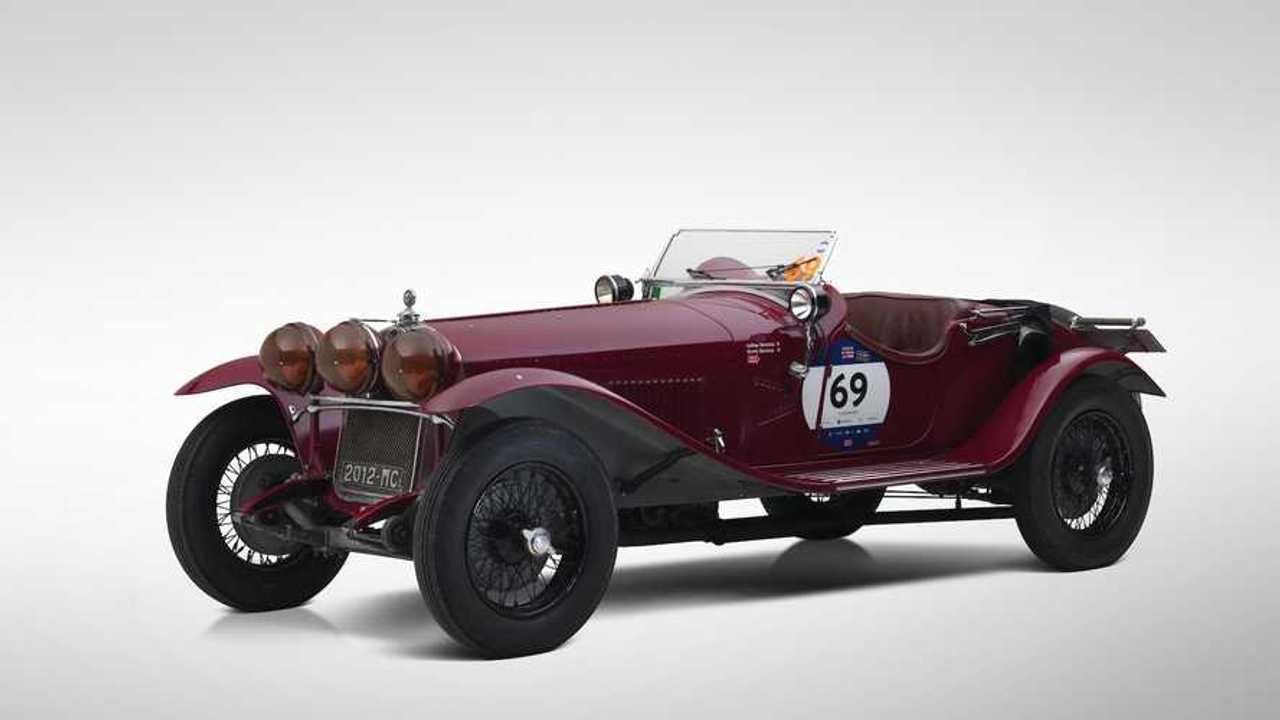 Ex-Scuderia Ferrari 1930 Alfa Romeo 6C set for Paris sale