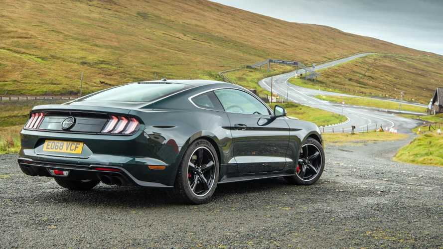 Ford takes the Mustang Bullitt to the Isle of Man TT course