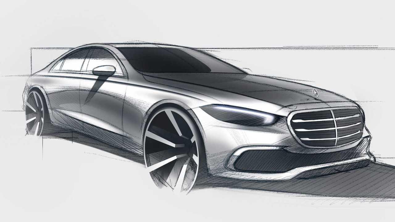 2021 Mercedes S-Class final teaser