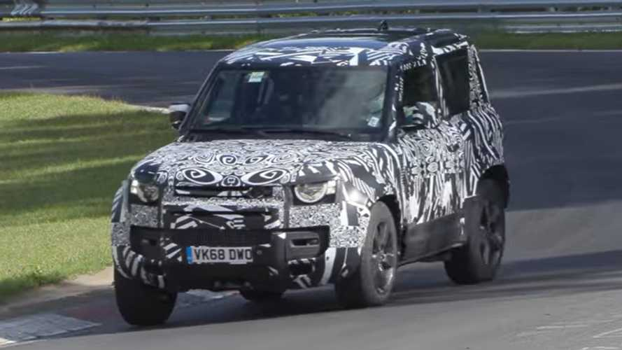 Land Rover Defender V8 Is One Fast Brick At The Nürburgring