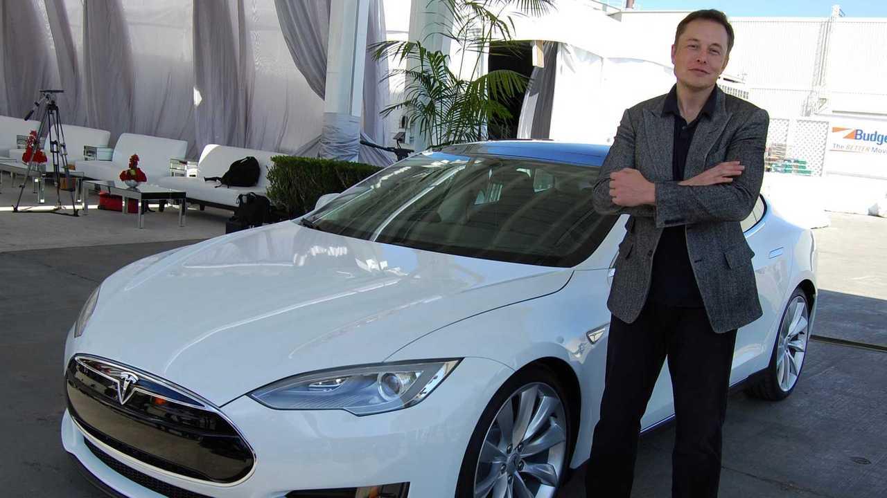 Elon Musk  Model S