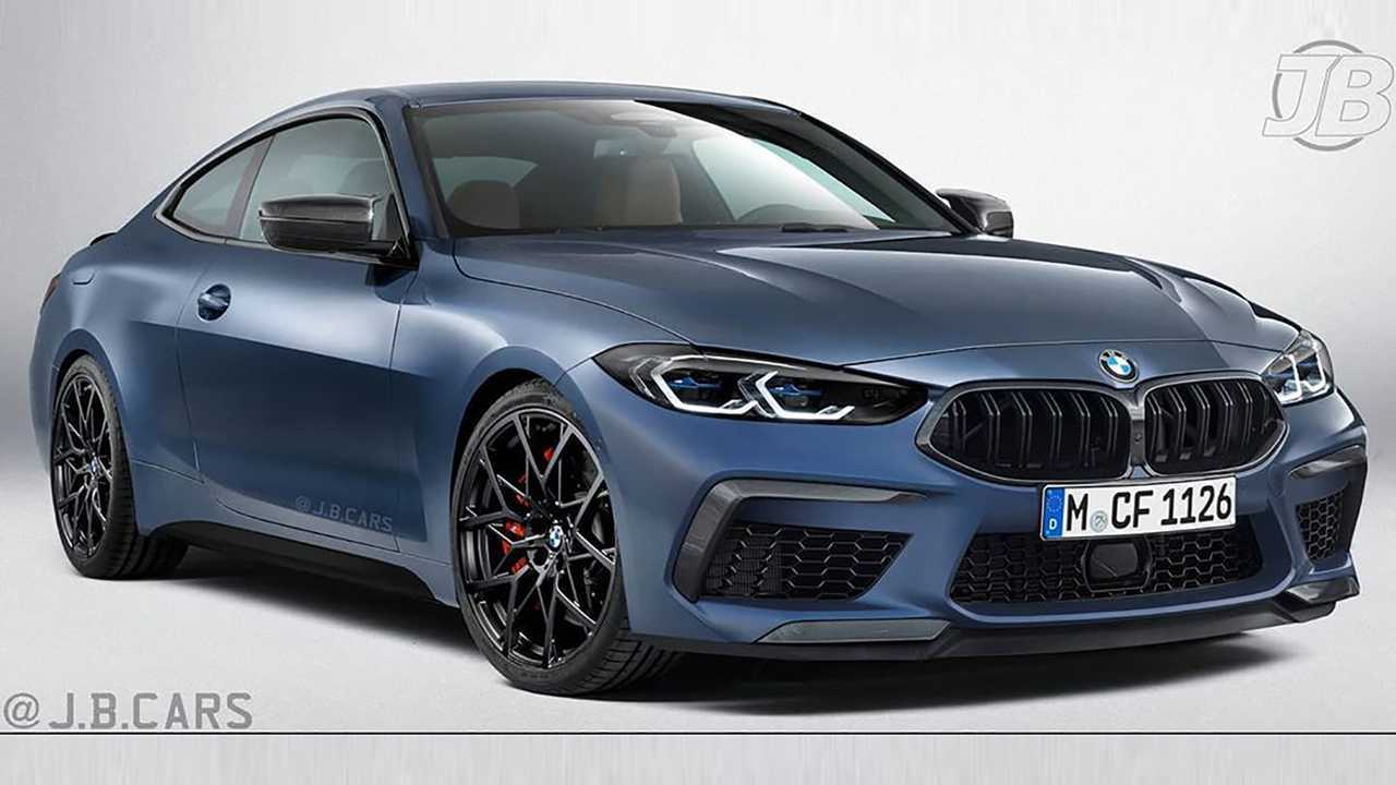 BMW 4 Series without the big grille