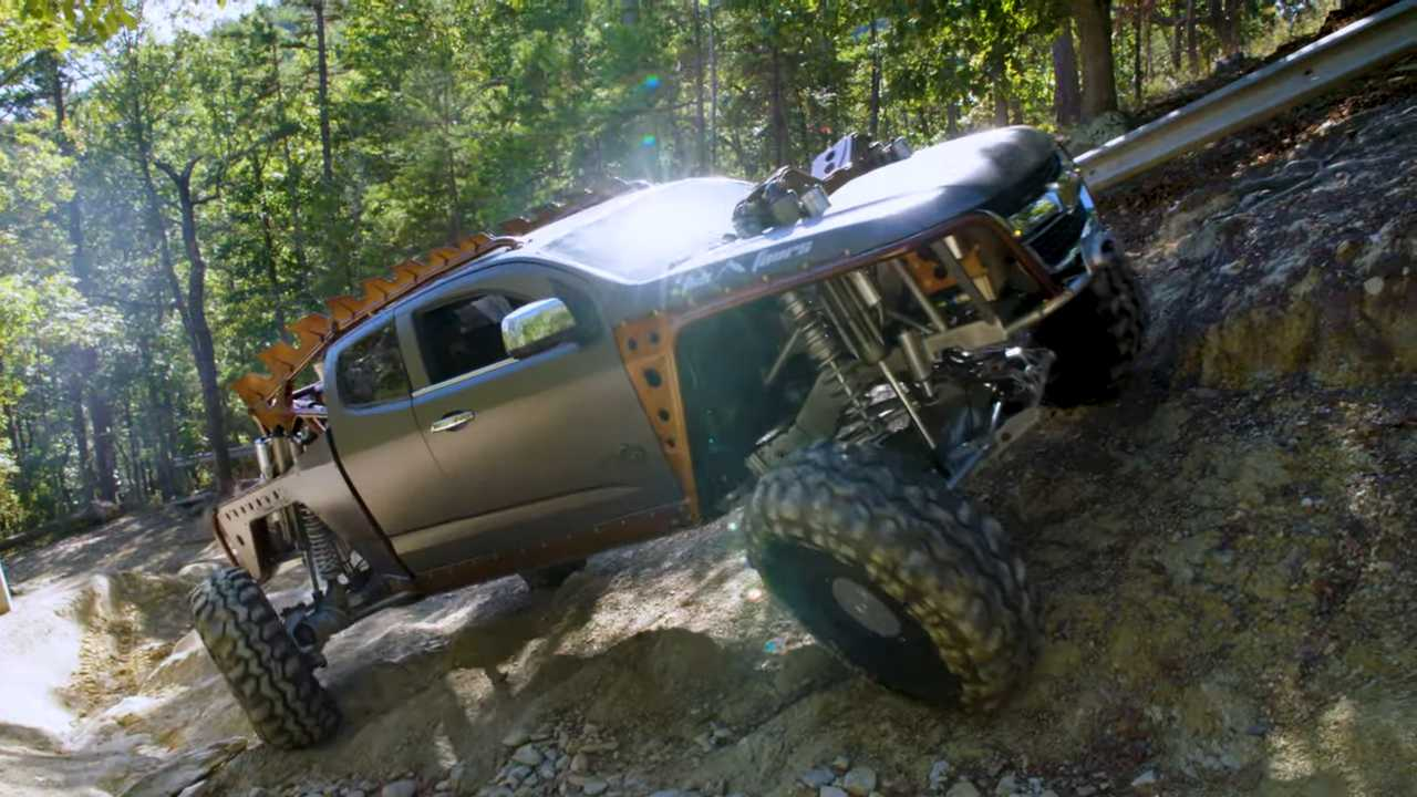 Crazy Chevy Colorado Kymera Is An Apocalypse Ready Off Road Monster